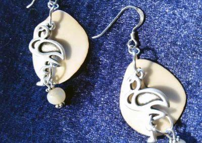 boucles d'oreilles atelier à Codalet de bijoux ethniques