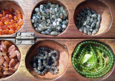 bijoux ethniques et fantaisie en pierres naturelles à Codalet 66